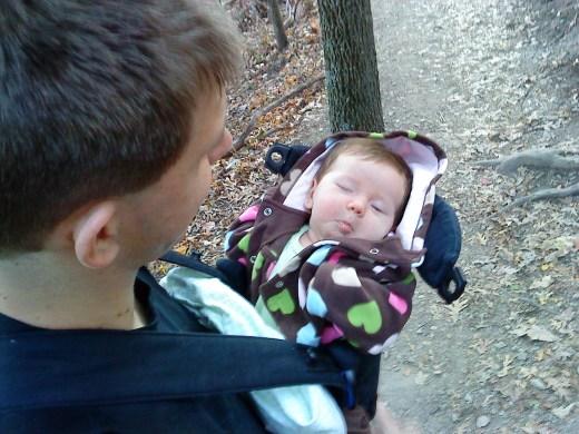 Half-Asleep in the Baby Bjorn