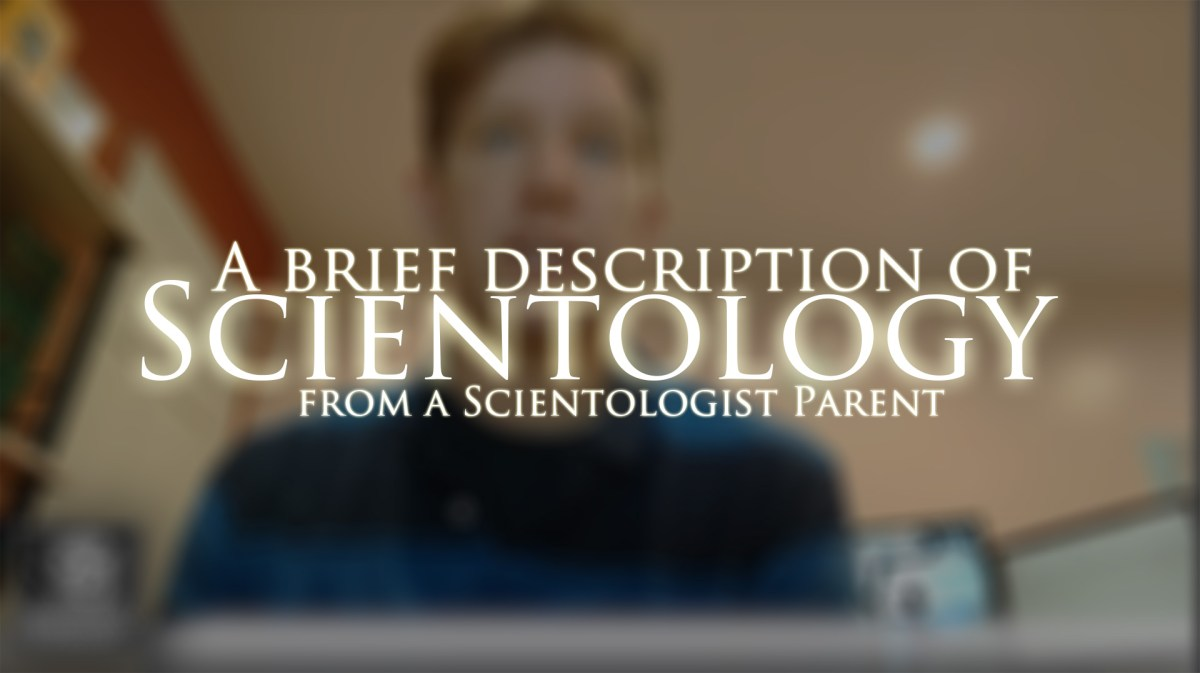Video: Briefly Describing Scientology