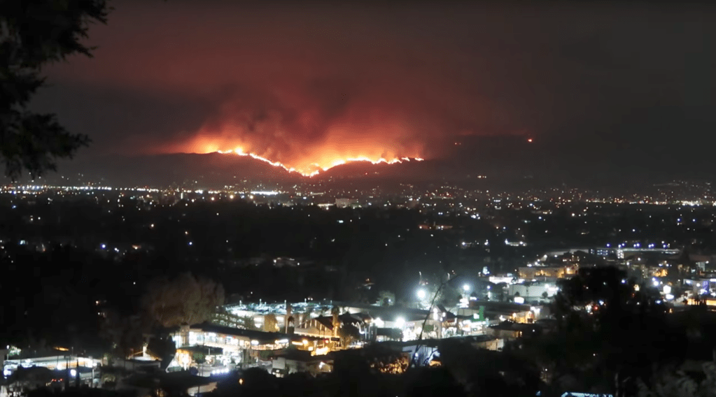 La Tuna Canyon Fire