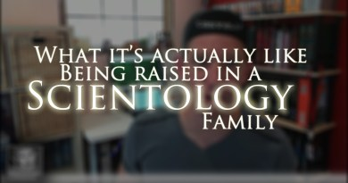 Video: Growing up in a Scientology Family https://www.youtube.com/watch?v=t83NkqbAUNQ