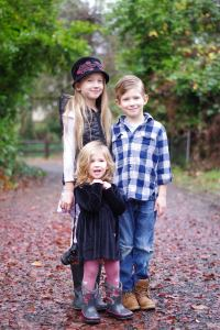 My 3 kids.