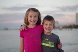 Enjoying a Florida sunset