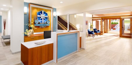Salt Lake City's reception area