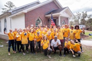 Scientology volunteer minister hurricane clean-up force