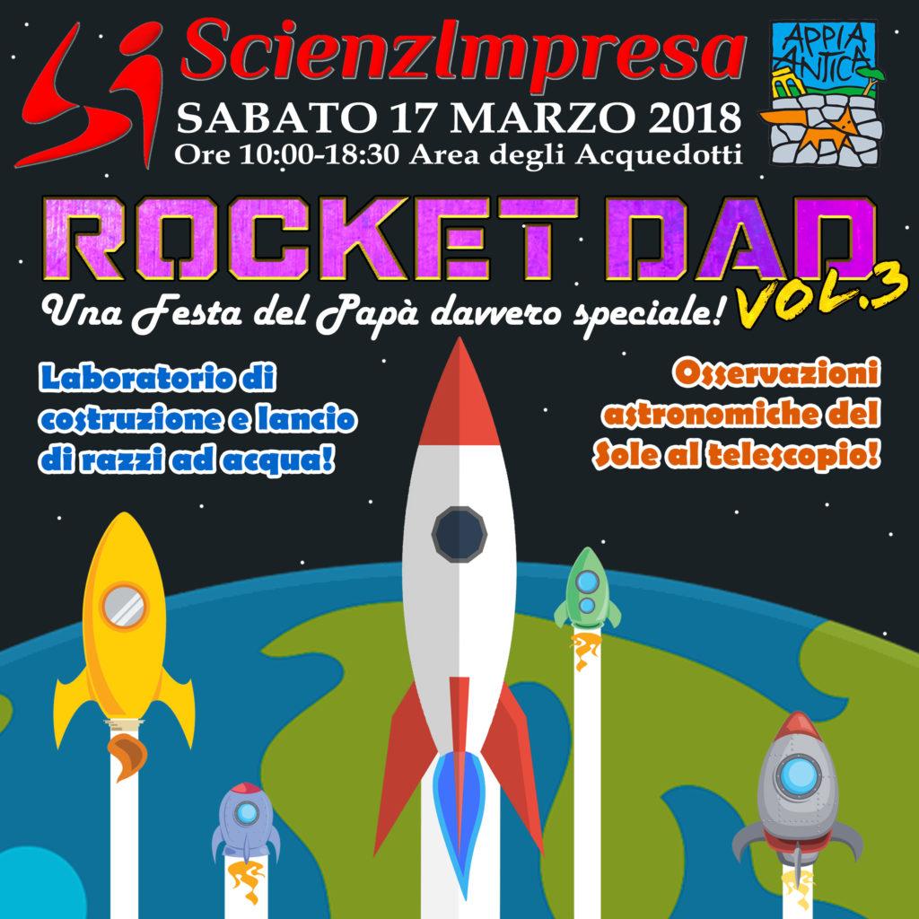 Rocket Dad Vol 3 Evento Annullato Per Pioggia