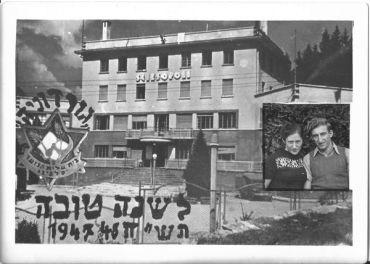 Avraham e Yenti Spiegel 1947