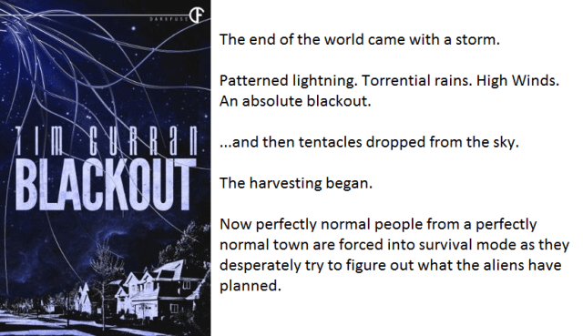 Book Cover and Synopsis for Blackout by Tim Curran