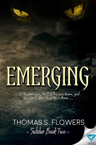Book cover of Emerging by Thomas S. Flowers