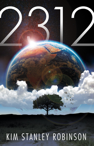 The book cover for 2312 by Kim Stanley Robinson