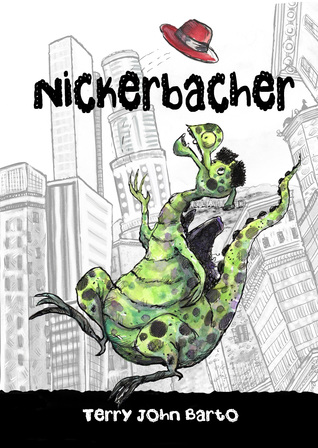 Book cover for Nickerbacher The Funniest Dragon Early Chapter Edition