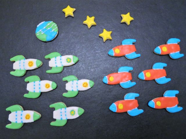 Space-Themed Cookies