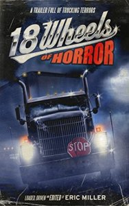 Book cover for 18 Wheels of Horror