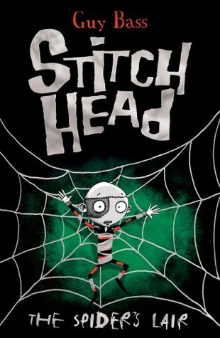 Book cover for Stitch Head by Guy Bass