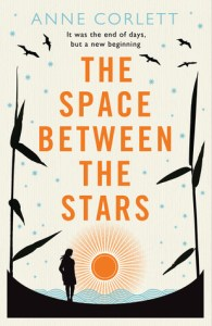 Book cover for The Space Between The Stars by Ann Collett