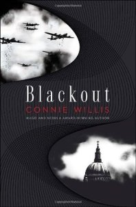 Book cover for Blackout by Connie Willis