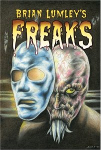 Book cover for Freaks by Brian Lumley
