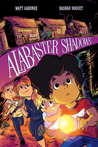 Book cover for Alabaster Shadows