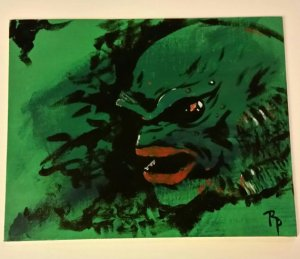 Painting of Creature From the Black Lagoon by Evil Nerd Studios