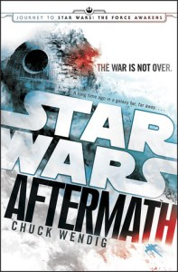 Book cover for Star Wars: Aftermath