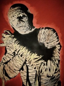 Painting of The Mummy