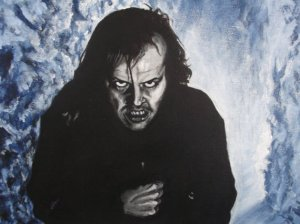 Painting of The Shining
