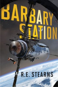 Book cover for Barbary Station