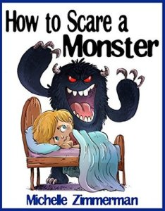 Book cover for How to Scare a Monster