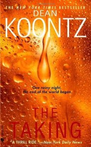 Book cover for The Taking by Dean Koontz