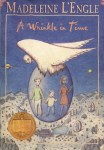 Book cover for a Wrinkle in Time
