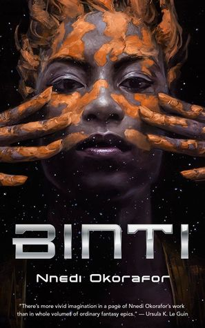 Book cover for Binti for African American Science Fiction and Horror Authors