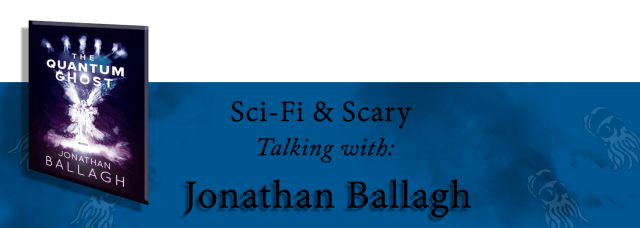 Banner for interview with Jonathan Ballagh
