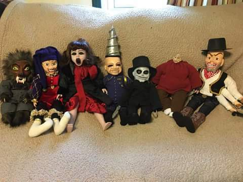 Puppet Master set by Jeanie Byrd