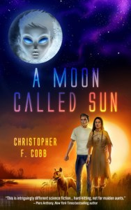 Book cover for a Moon Called Sun