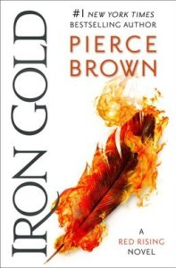 Book cover for Iron Gold