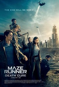 Movie Poster for Maze Runner: Death Cure