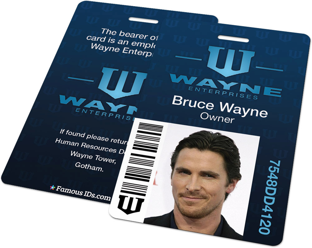 ID Badges Featuring Famous Pop Culture Characters Sci