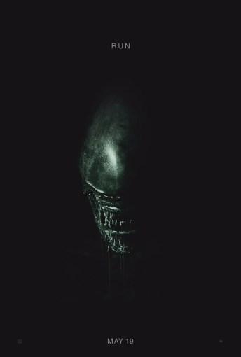 New Alien: Covenant Poster 'Run'