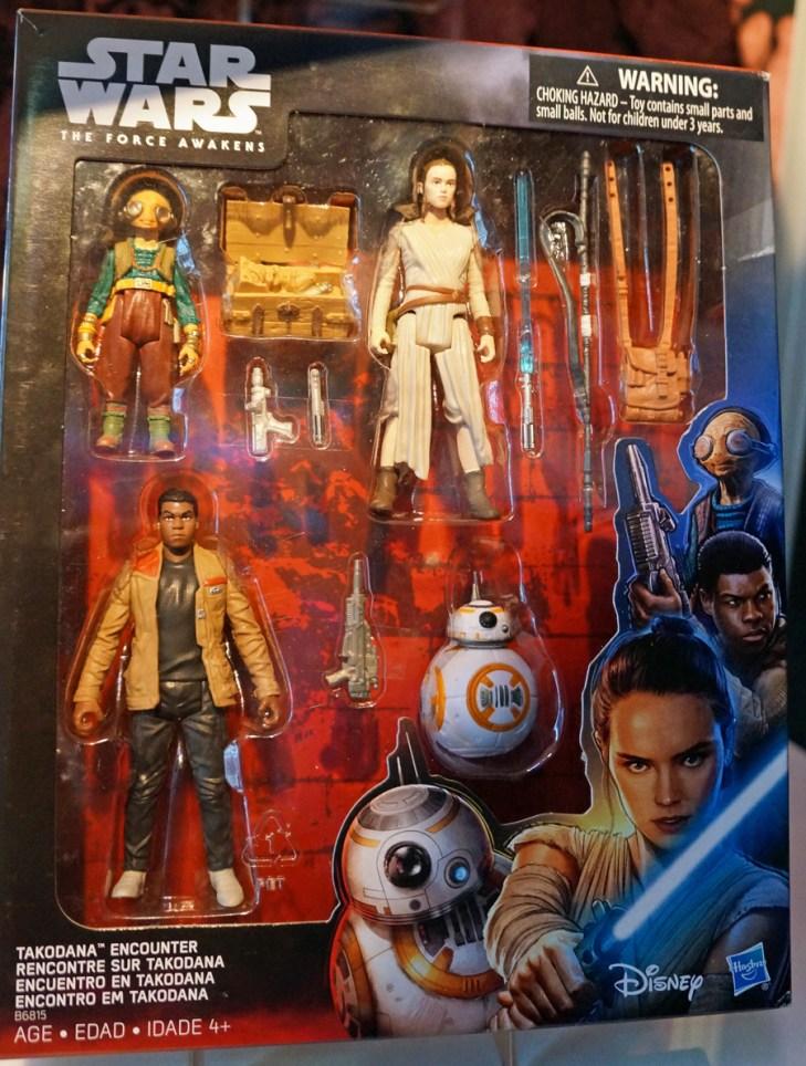 Finn, Rey, Maz Kanata 3 Pack