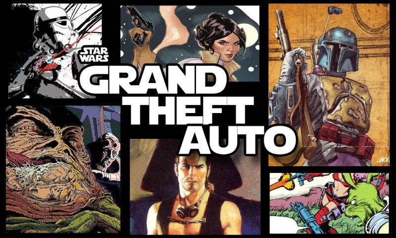 STAR WARS Grand theft auto
