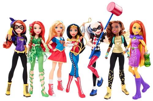 Mattel_DCSHG 12 in Action Dolls