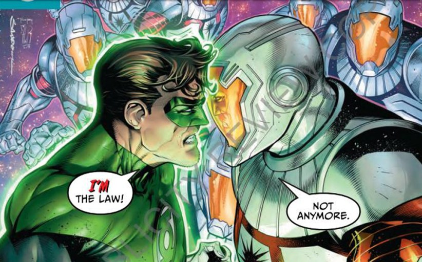 Hal Jordan and the Green Lantern Corps #44 Review