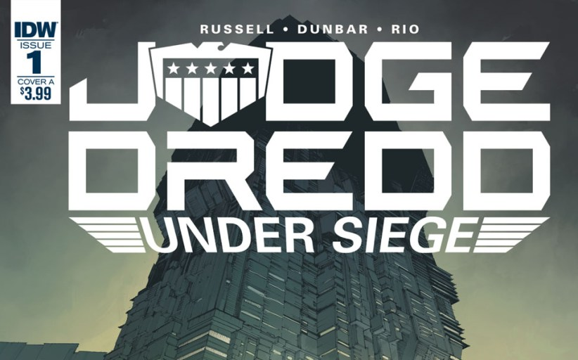 Judge Dredd: Under Siege #1 comic review (IDW)