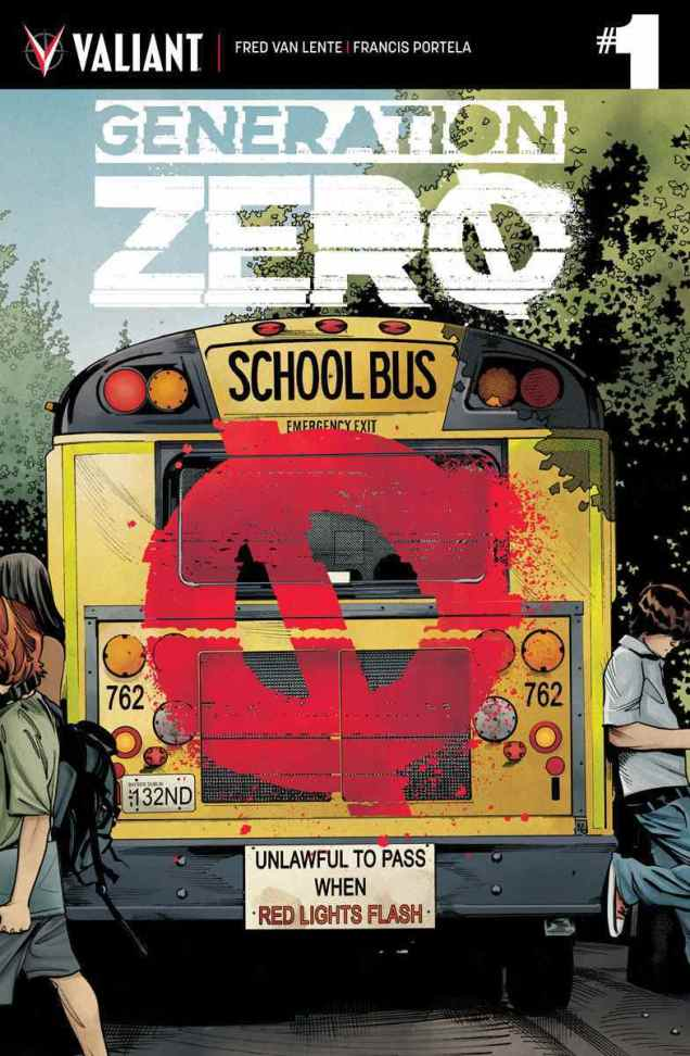 GENERATION ZERO #1 – Cover A by Stephen Mooney