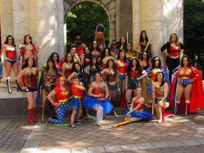 Wonder Women photo with Clair Brauer_Stephen Blanzaco