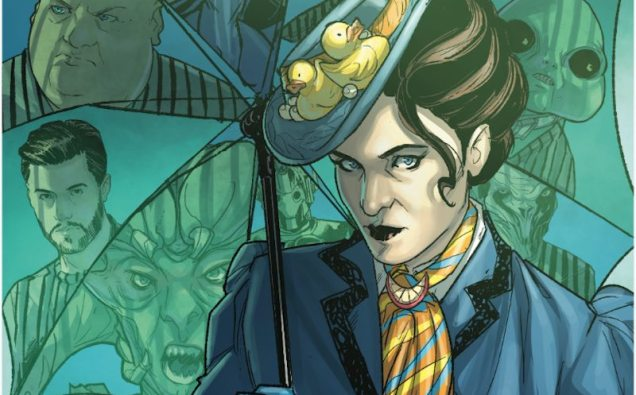 Titan Comics Release Art Preview for Doctor Who: Missy Comic