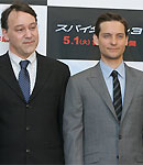 Tobey Maguire and Sam Raimi