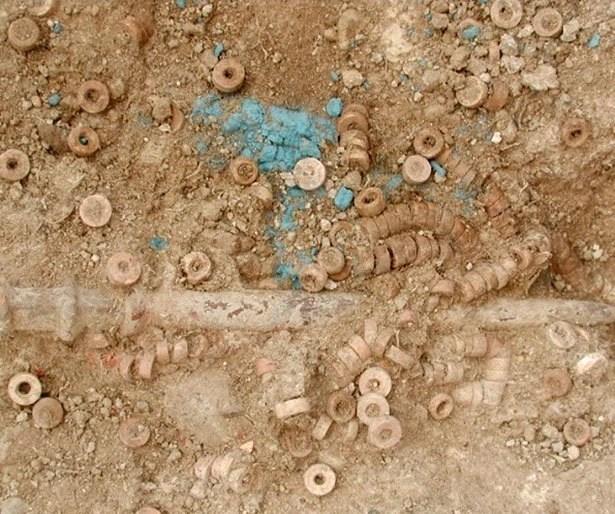 Kupferschlacke aus Çatal Höyük