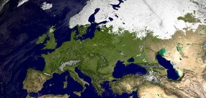 Europa im Winter