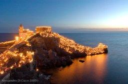Portovenere, La Spezia durante la festività della Madonna Bianca, il 17 Agosto - Portovenere, La Spezia during Madonna Bianca festivity, on August, 17