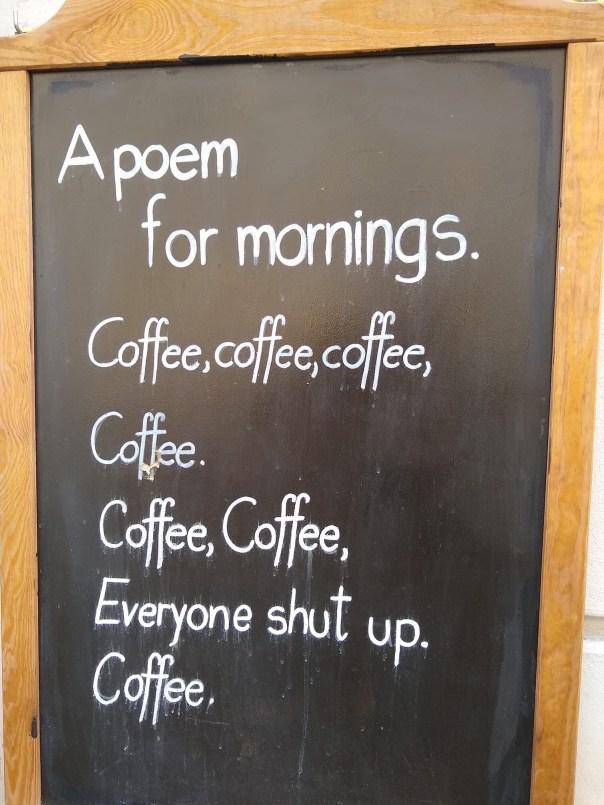 poesia della mattina
